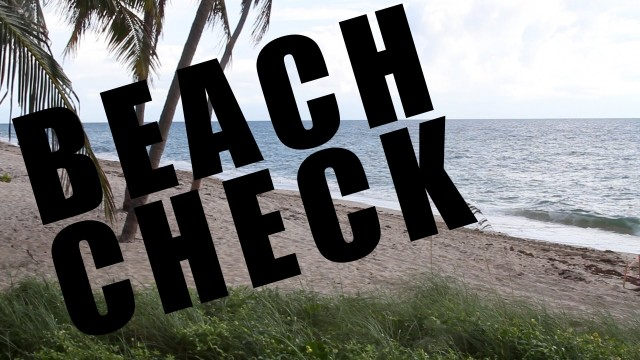 2012 Mullet Run Beach Check 09 17 Morning