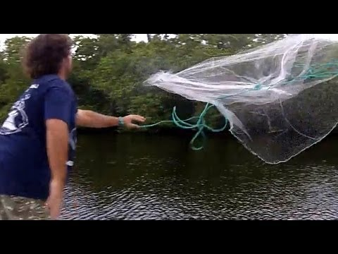 Best Cast Net Technique For Mullet