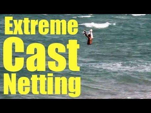 Cast Net Throwing Highlight 2012 Mullet Run