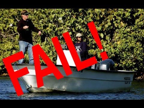 Funny Fishing Sketch! Busted Stealing Spots