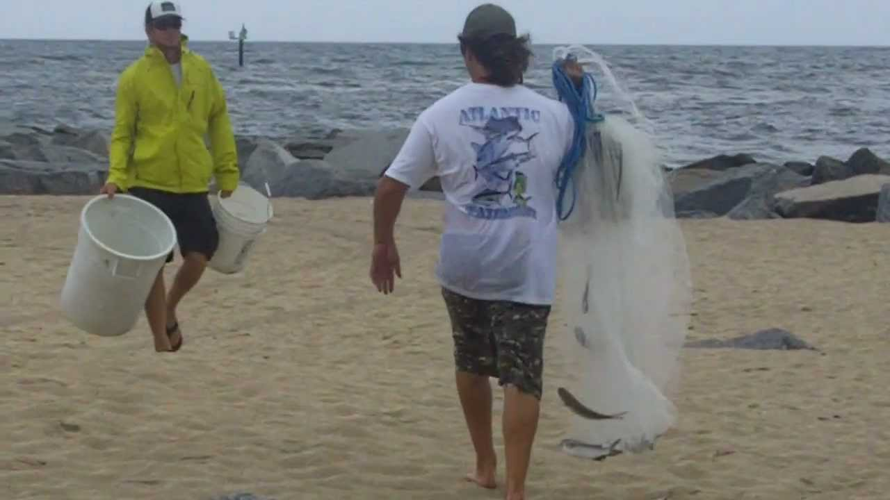 Hardcore Cast Netting Mullet