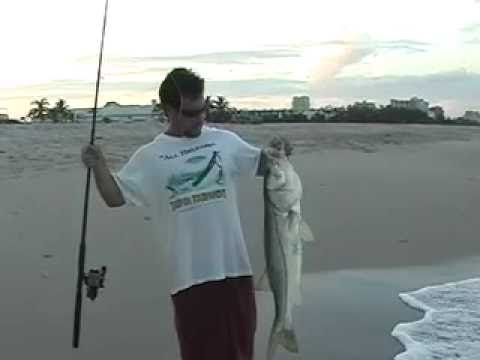 How To Catch Snook On The Beach