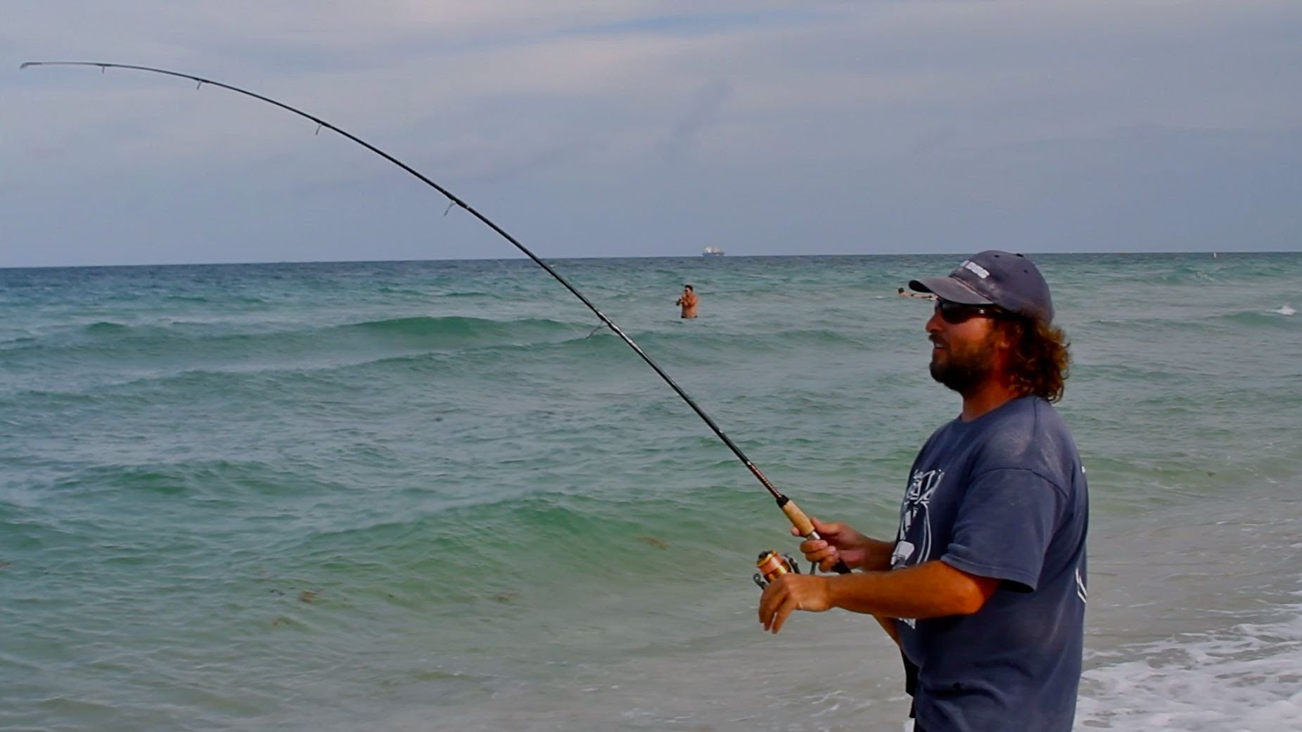 Snook Fishing On The Beach Live Bait