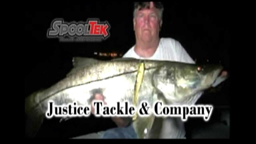 Ultimate night snook with spooltek lure for Snook fishing lures