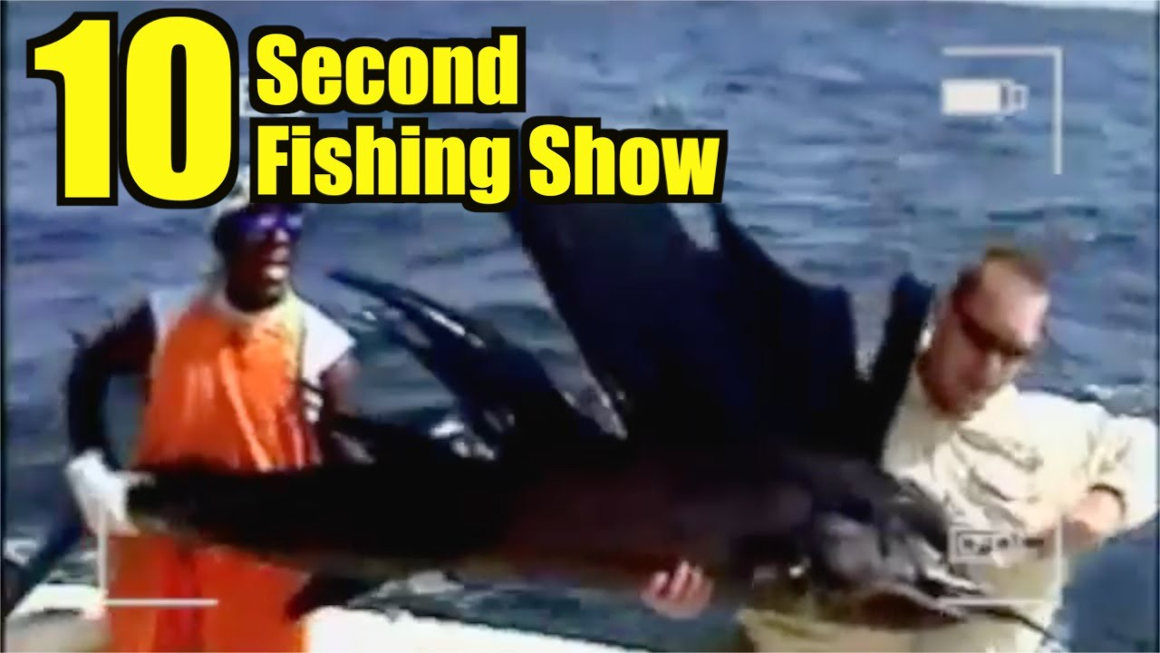 Game Fishing PACIFIC SAILFISH – Captain Jeff 10 Second Fishing Show