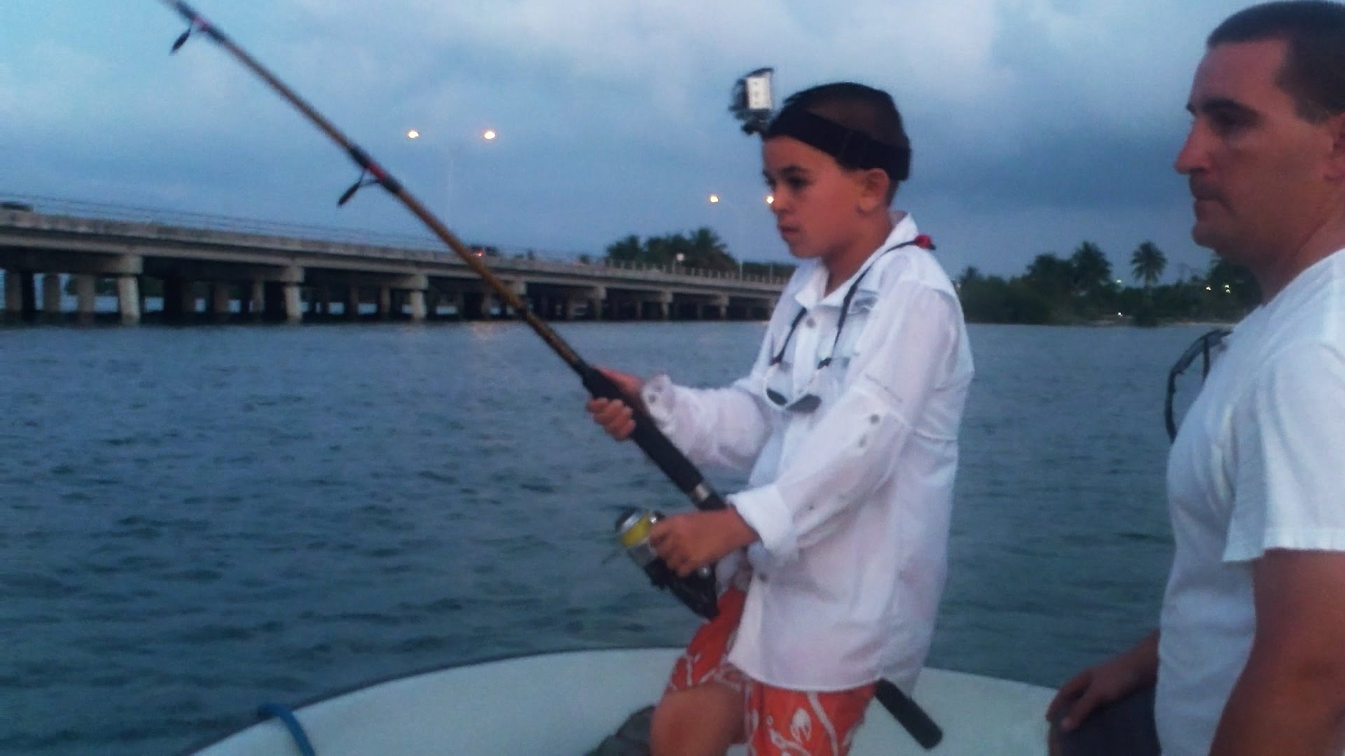 Miami Kid Catches Monster Fish