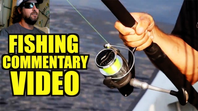 Jeff Adds Commentary To His Tarpon Fishing Video