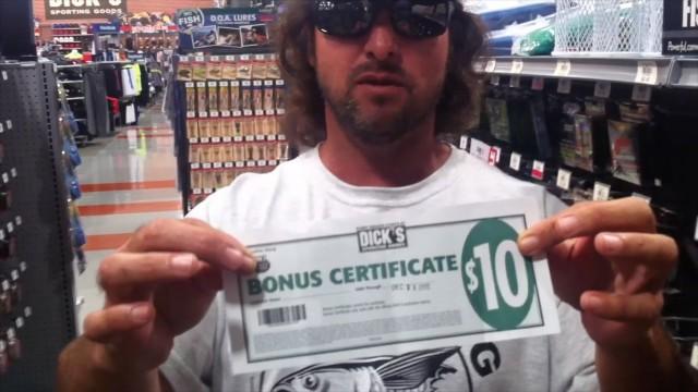 DIck's Reward Points REEL GUY Rewards