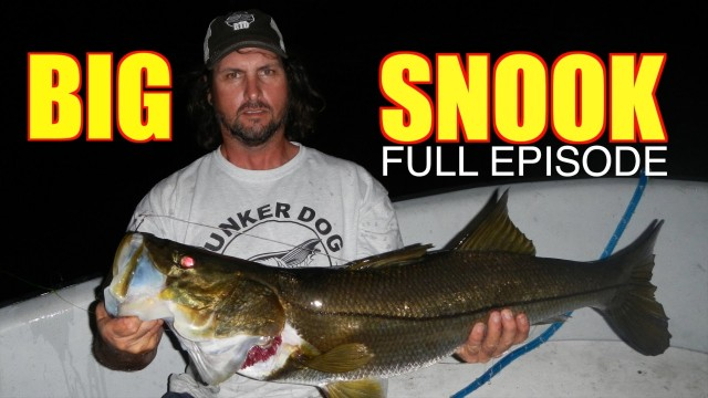 Big Snook Fishing Full Episode