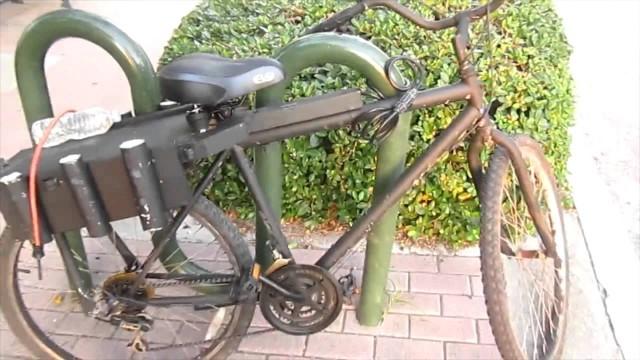 Custom Fishing Bike modified for the Mullet Run