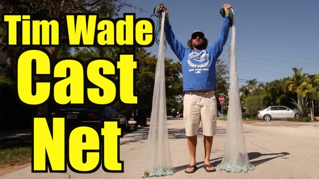 Tim Wade Cast Net Unboxing