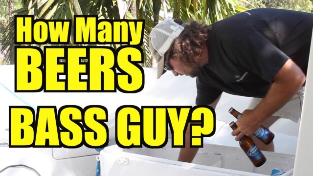How Many Beers Does Bass Guy Drink On A Tarpon Trip