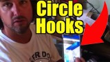 Circle Hook Variety for Live Bait Fishing for Snook Tarpon and Jacks