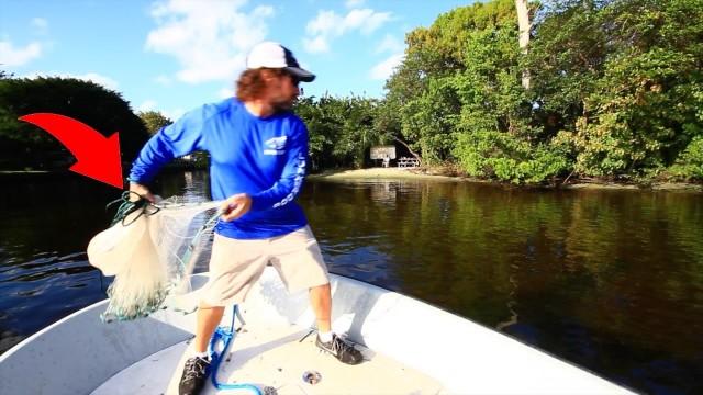 Ultimate Cast Net Fishing – Sheepshead Struggle