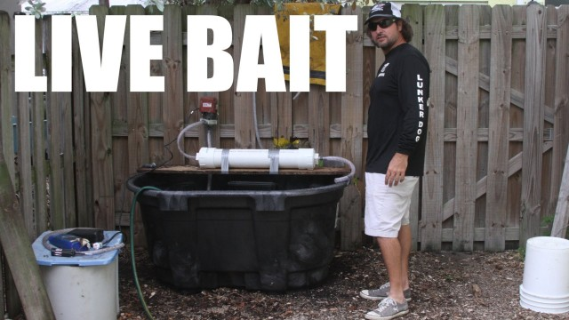 100 Gallon Live Fishing Bait Tank Build Video – Supreme Live Well