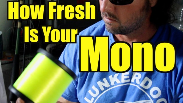 Fishing Line: How Fresh Is Your Mono?