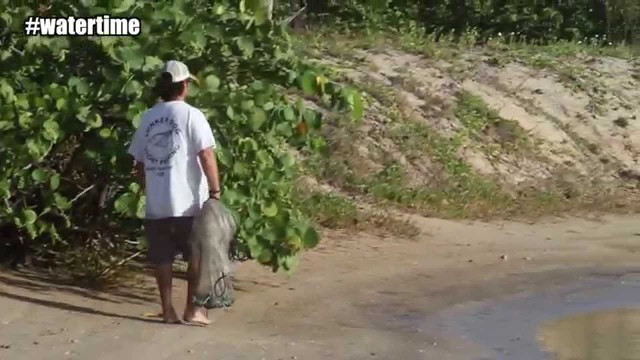 Cast Netting Pre Pod Watertime Video