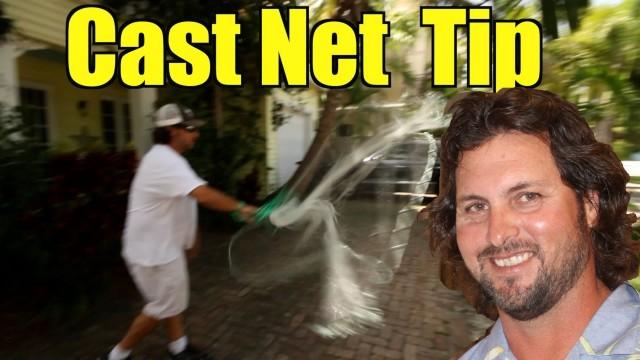 Cast Net Tip – Captain Jeff