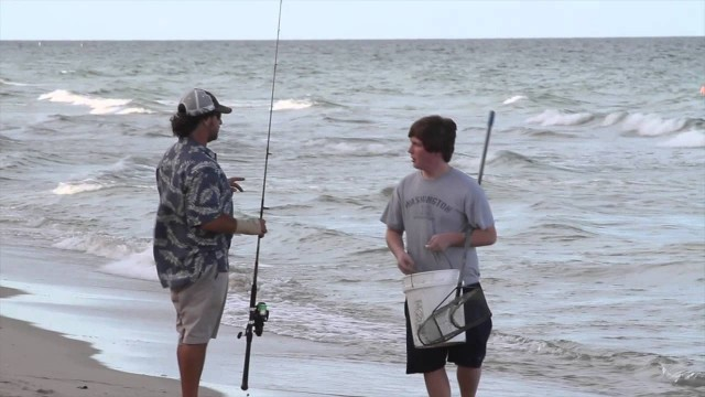 Live Bait Fishing – Looking for Bait